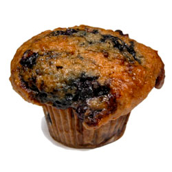 Blueberry Oatmeal Muffins<br>5 pk - Code#: BR693