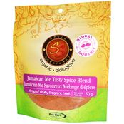 Organic Jamaican Me Tasty Spice Blend- Code#: SA3351