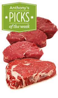 Anthony's Pick of the Week - Two Rivers Meats 45 Day Dry Aged Striploin Steak
